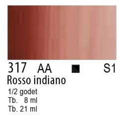 317 - W&N Cotman Rosso indiano