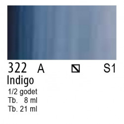 322 - W&N Cotman Indigo