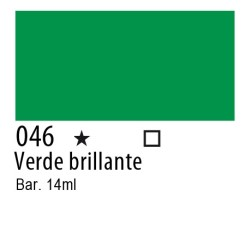 046 - Inchiostro colorato W&N Verde brillante