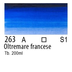 263 - W&N Winton Oltremare francese