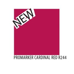 Promarker cardinal red r244