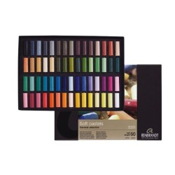 Rembrandt Soft Pastels General Selection Deluxe, scatola 60 mezzi pastelli soffici