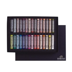 Rembrandt Soft Pastels Portrait Selection Basic Set, scatola 30 pastelli soffici
