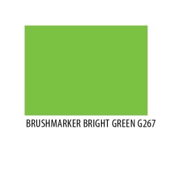 Brushmarker Bright Green G267