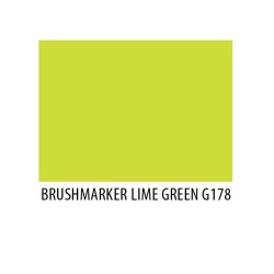 Brushmarker Lime Green G178