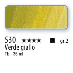 530 - Mussini verde giallo