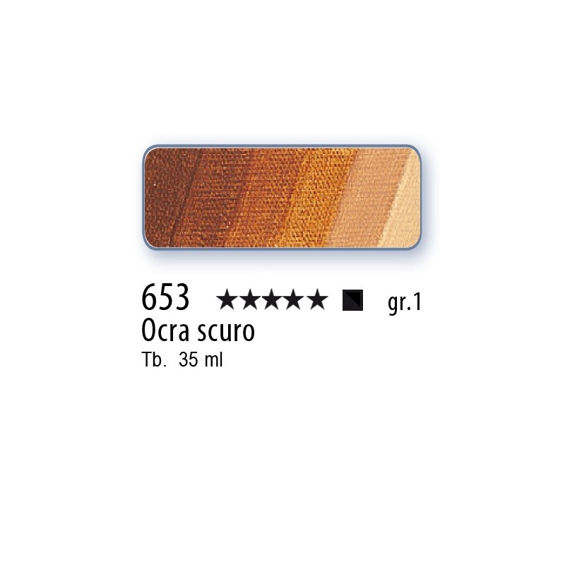 653 - Mussini ocra scuro
