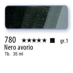 780 - Mussini nero avorio
