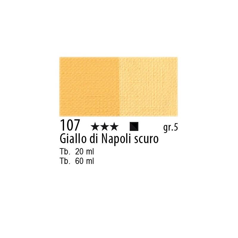 107 - Maimeri Olio Artisti Giallo di Napoli scuro