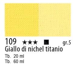 109 - Maimeri Olio Artisti Giallo di nichel titanio