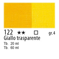 122 - Maimeri Olio Artisti Giallo trasparente