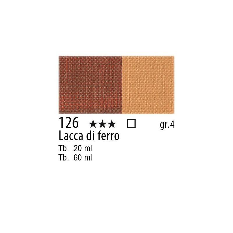 126 - Maimeri Olio Artisti Lacca di ferro (terra di Bergamo)
