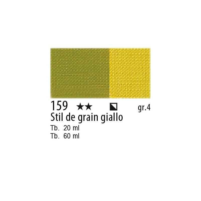 159 - Maimeri Olio Artisti Stil de grain giallo