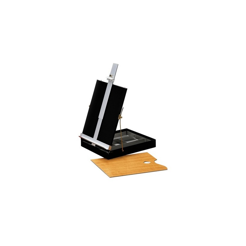 Cassetta cavalletto da tavolo in metallo