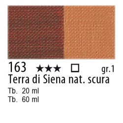 163 - Maimeri Olio Artisti Terra di Siena naturale scura