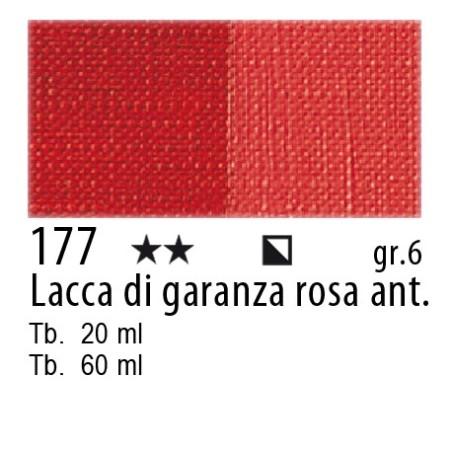 177 - Maimeri Olio Artisti Lacca di garanza rosa antica