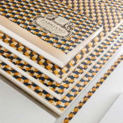 Fabriano Blocco per Artisti, collato 4 lati, 20 fogli, cm 31x46, grana grossa, 300gr/mq