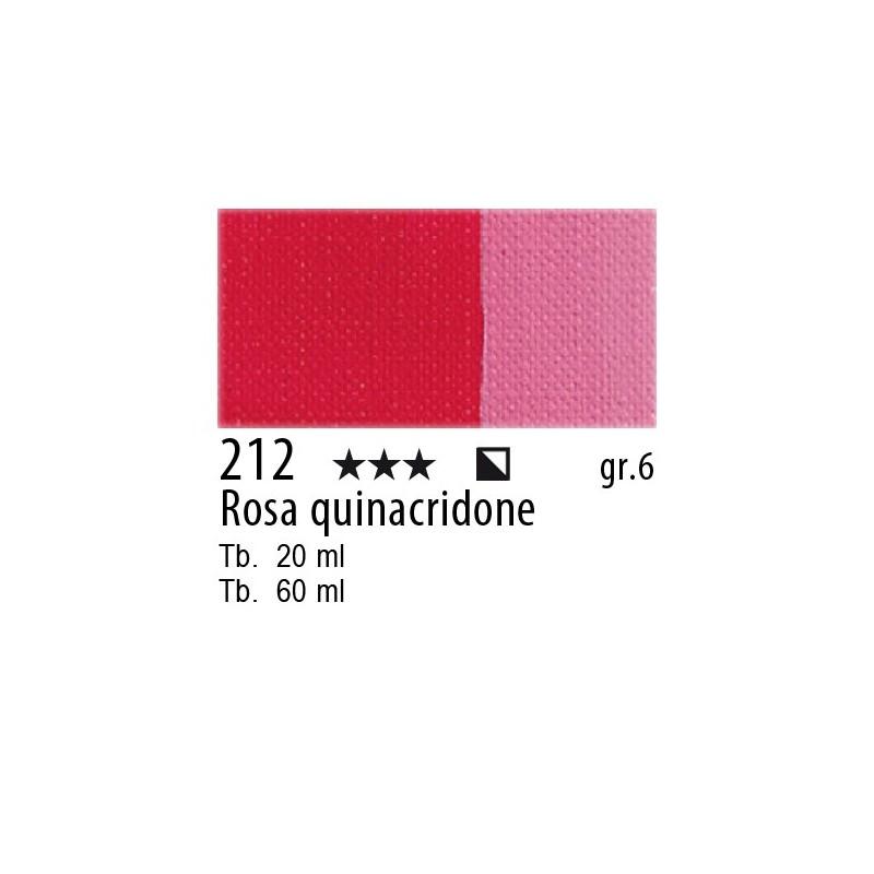 212 - Maimeri Olio Artisti Rosa quinacridone