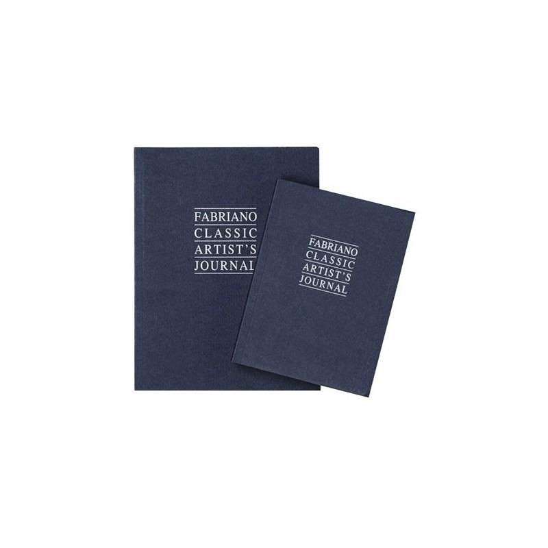 Fabriano Classic Artist's Journal, diario da disegno, 192 fogli, cm 12x16, grana vergata, 90gr/mq