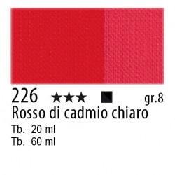 226 - Maimeri Olio Artisti Rosso di cadmio chiaro