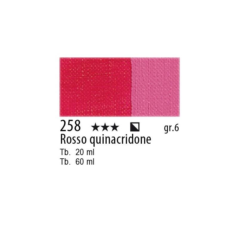 258 - Maimeri Olio Artisti Rosso quinacridone