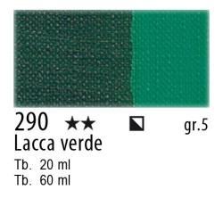 290 - Maimeri Olio Artisti Lacca verde
