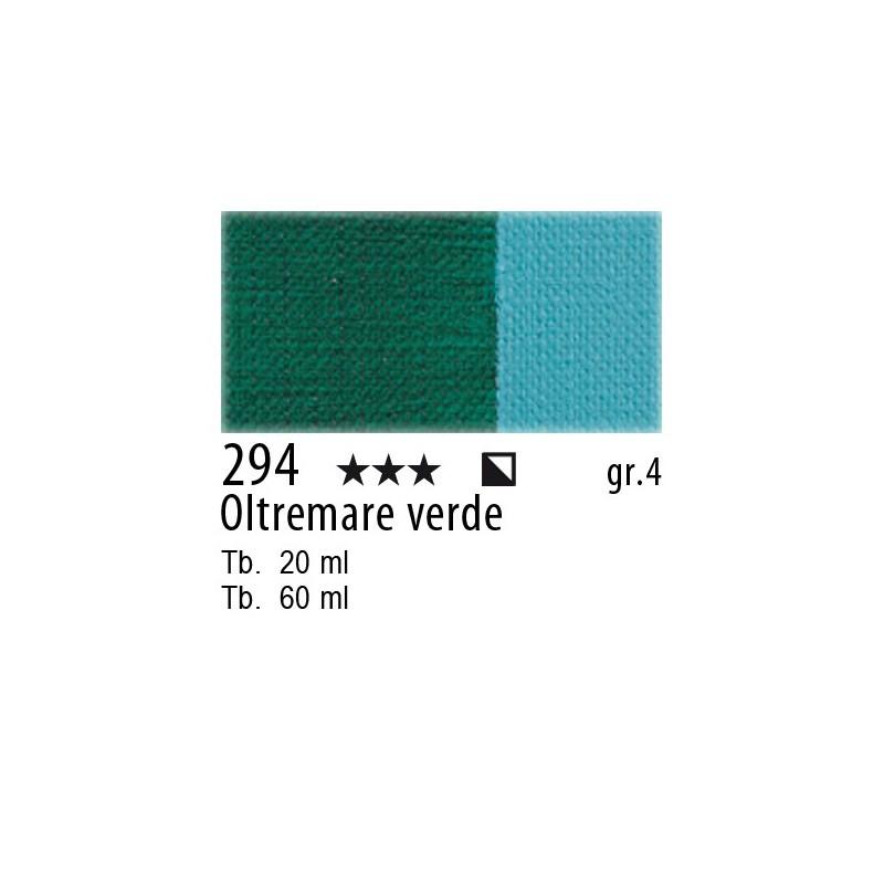 294 - Maimeri Olio Artisti Oltremare verde