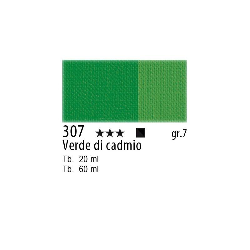 307 - Maimeri Olio Artisti Verde di cadmio