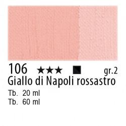 106 - Maimeri Olio Classico Giallo di Napoli rossastro