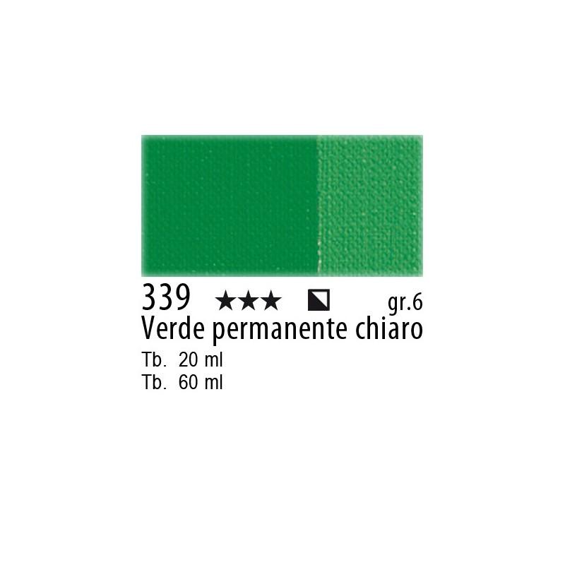 339 - Maimeri Olio Artisti Verde permanente chiaro
