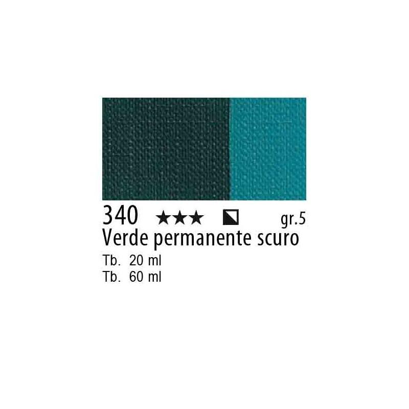 340 - Maimeri Olio Artisti Verde permanente scuro