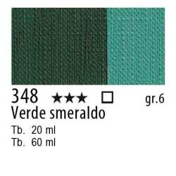 348 - Maimeri Olio Artisti Verde smeraldo