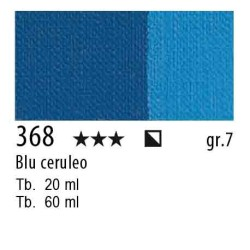 368 - Maimeri Olio Artisti Blu ceruleo