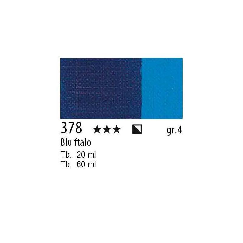 378 - Maimeri Olio Artisti Blu ftalo