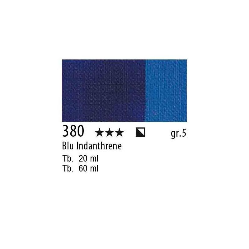380 - Maimeri Olio Artisti Blu Indanthrene