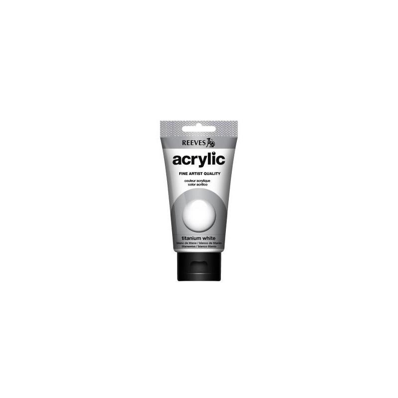 710 - Reeves Acrylic Bianco titanio