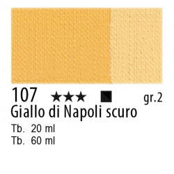 107 - Maimeri Olio Classico Giallo di Napoli scuro