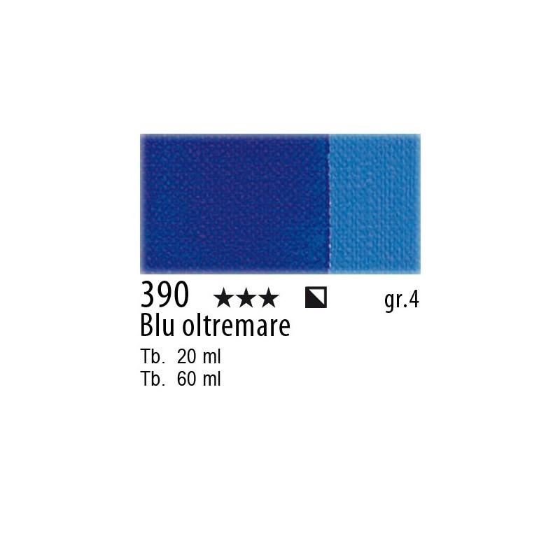 390 - Maimeri Olio Artisti Blu oltremare