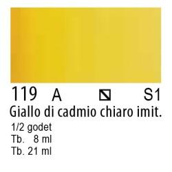 119 - W&N Cotman Giallo di cadmio chiaro imit.