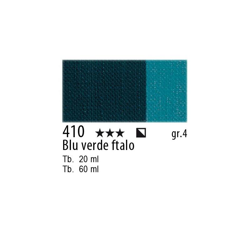 410 - Maimeri Olio Artisti Blu verde ftalo