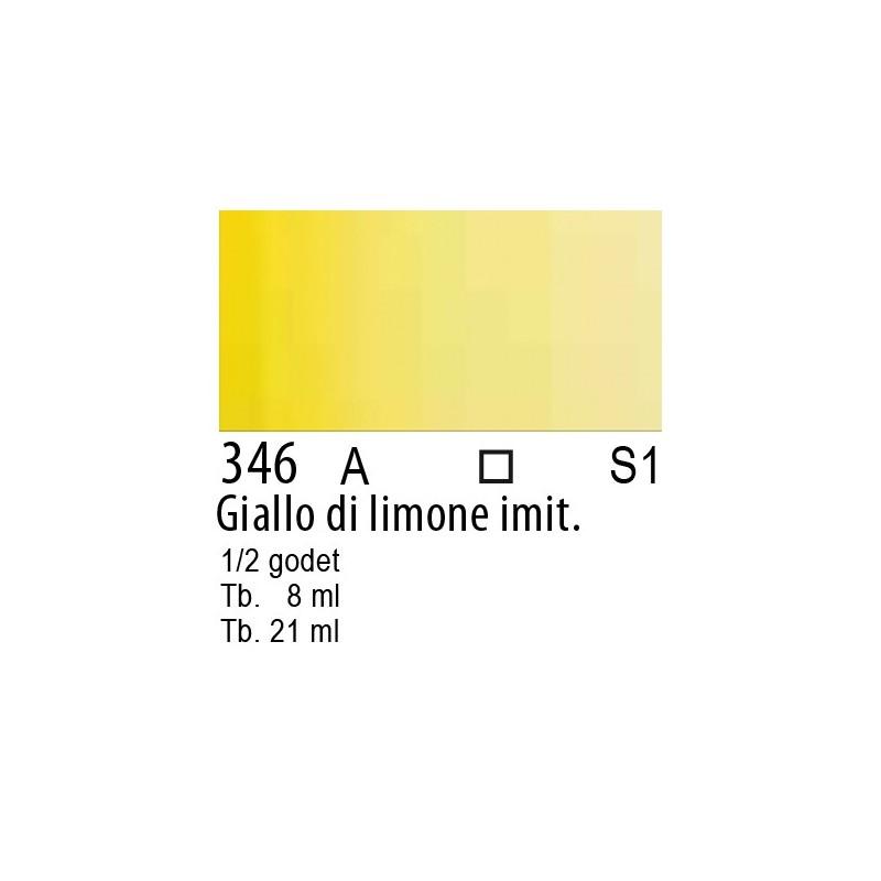 346 - W&N Cotman Giallo di limone imit.