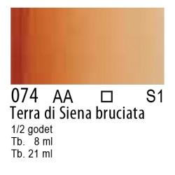074 - W&N Cotman Terra di Siena bruciata