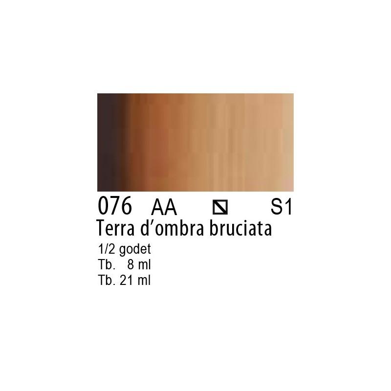076 - W&N Cotman Terra d'ombra bruciata