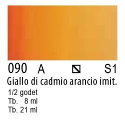090 - W&N Cotman Giallo di cadmio arancio imit.