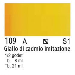 109 - W&N Cotman Giallo di cadmio imit.
