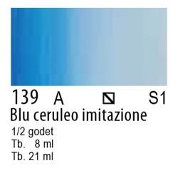 139 - W&N Cotman Blu ceruleo imit.