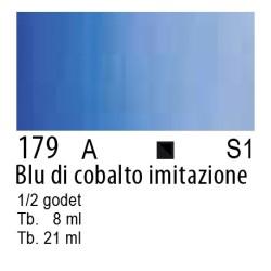 179 - W&N Cotman Blu di cobalto imit.