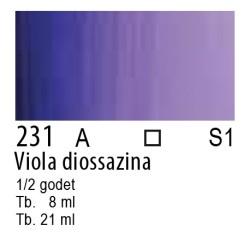 231 - W&N Cotman Viola diossazina