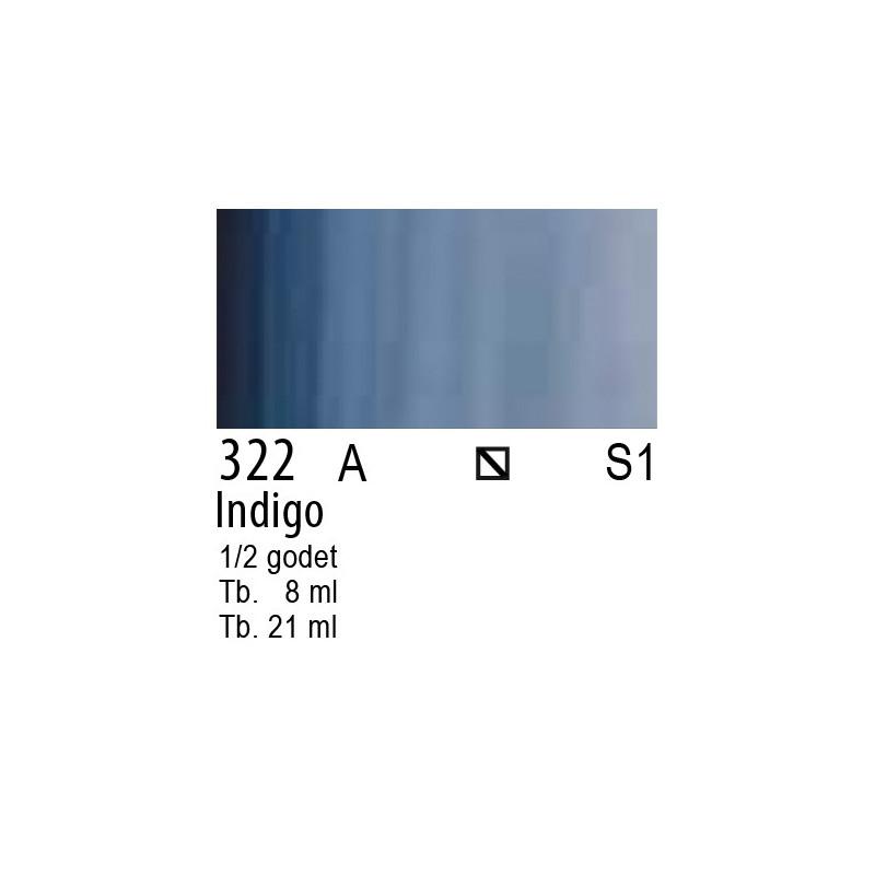 322 - W&N Cotman Indigo