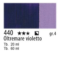 440 - Maimeri Olio Artisti Oltremare violetto